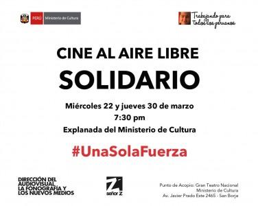 Cine al Aire Libre Solidario