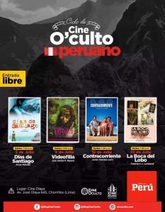 Ciclo de Cine O'culto Peruano