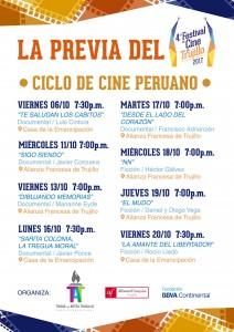 La Previa del Festival de Cine de Trujillo