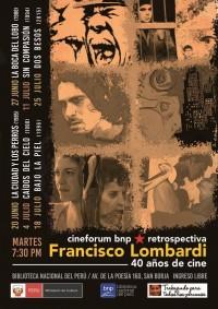 Retrospectiva de Francisco Lombardi